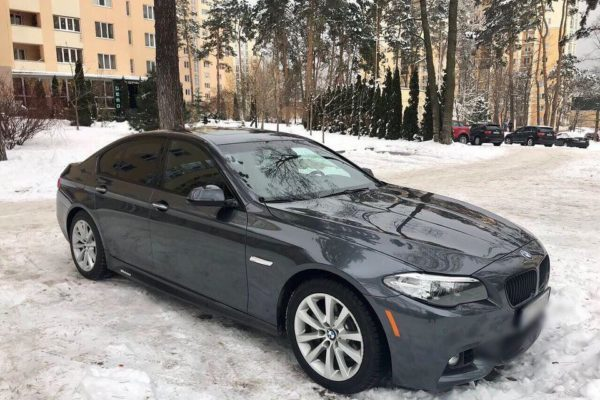 BMW 528, 2.0 twinturbo, 2015 года выпуска, 43 тыс. км пробег