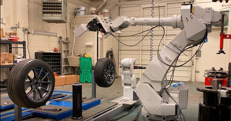 Ваша следующая замена шин может быть выполнена роботом