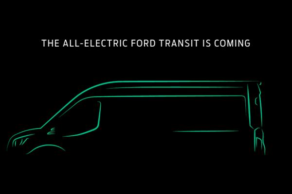 Ford строит полностью электрический грузовой фургон Transit для рынка США