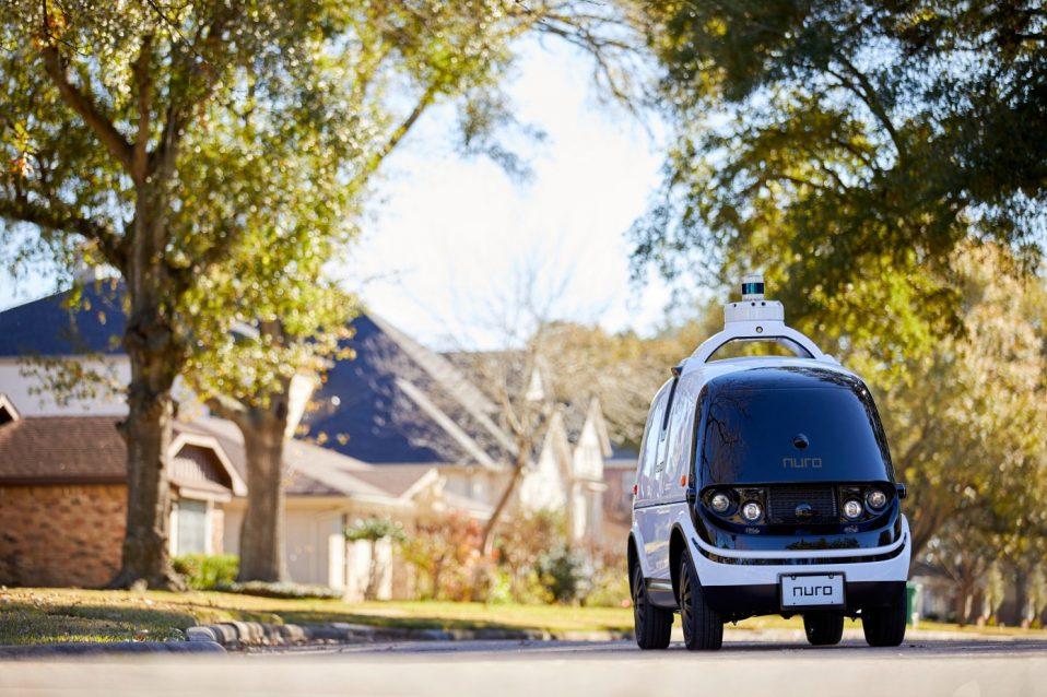 Нуро в готовы, проверить свои беспилотные транспортные средства на дорогах Калифорнии